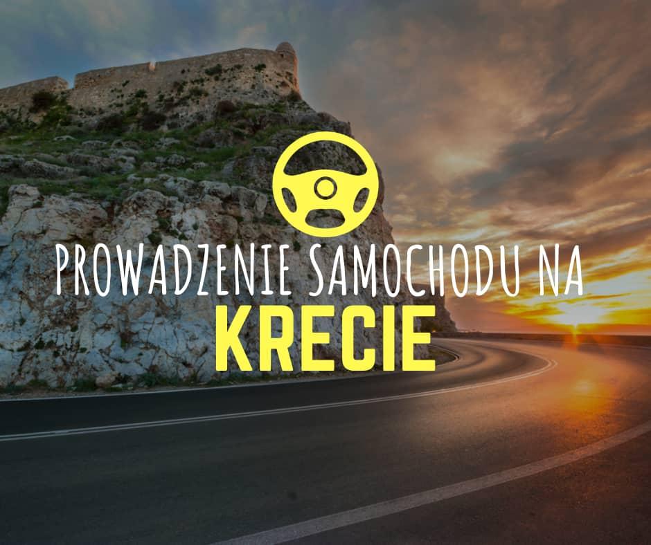 Jazda samochodem po Krecie